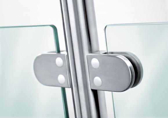 מחזיקי זכוכית נירוסטה /מצופה כרום -גב עגול גב ישר